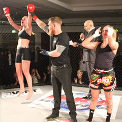 Female MMA Fighter